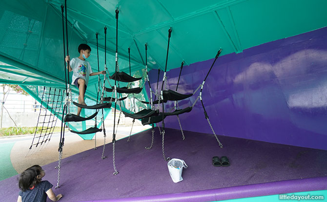 Origami Playground at Nee Soon 3G Park Hammock Area