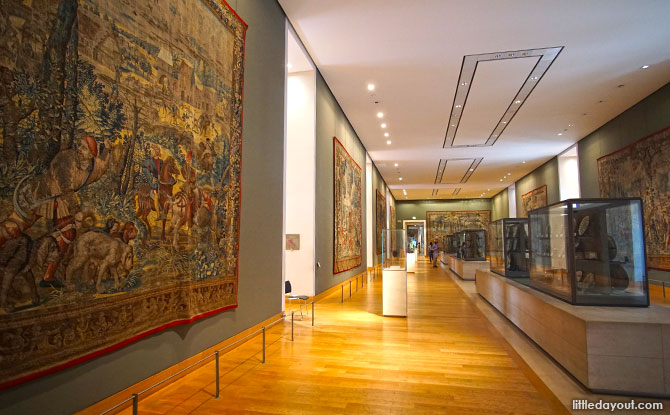 Tapestries at Louvre, Paris