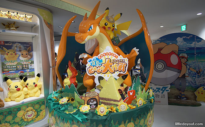 Pokemon Center Mega in Tokyo's Sunshine City: Get Your Pokeballs (And Wallets) Ready To Catch 'em All