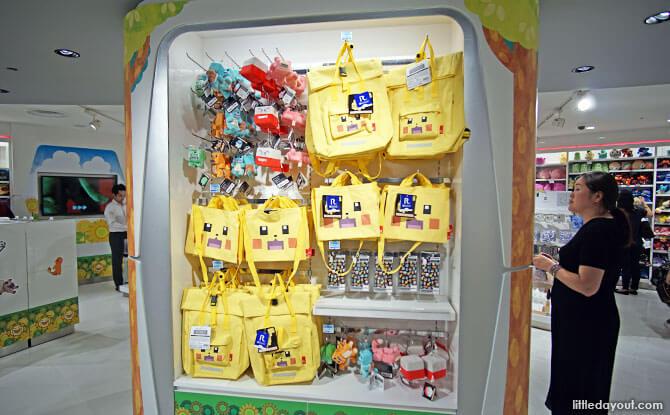 Merchandise at Pokemon Center