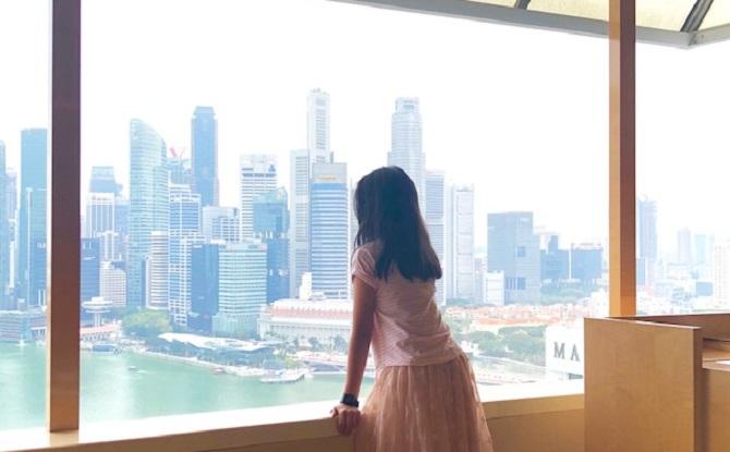 Views from Ritz Carlton Singapore