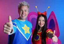 The Super Santa Christmas Show by Stevie, Ex Hi-5