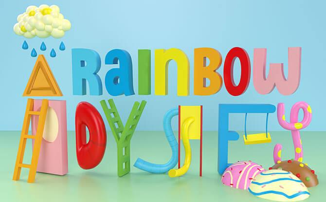 A Rainbow Odyssey