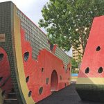 Tampines Central Park: Watermelon & Mangosteen Playgrounds, Dog Run & OG Recreational Space