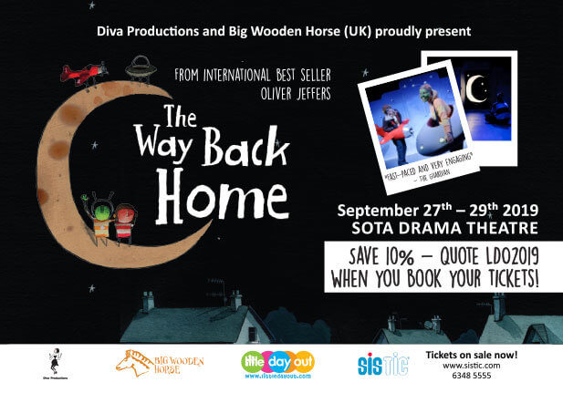 The Way Back Home Live on Stage in Singapore - Discount Code