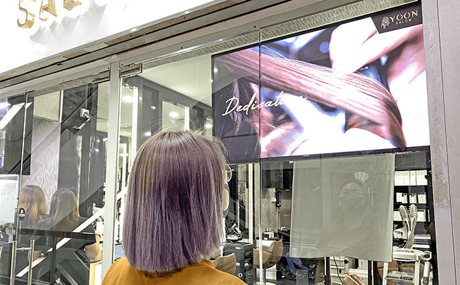 Brighten Up with Colours - Yoon Salon