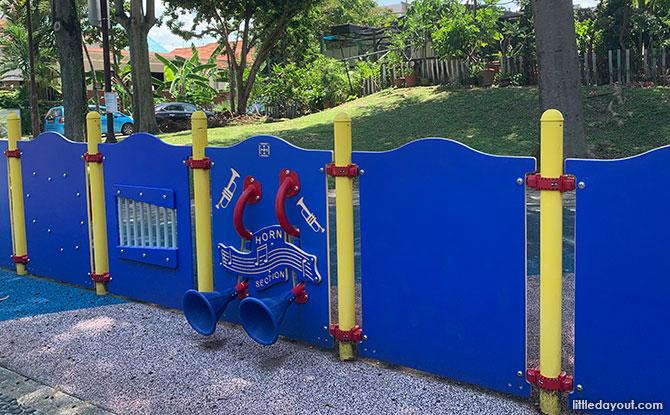 Playground at Aida Park
