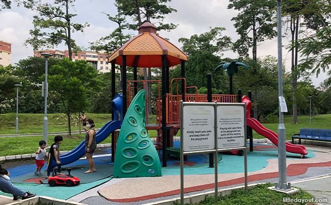 Playground at Aquaria Park