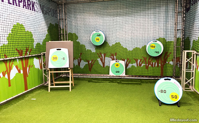 targets at archery