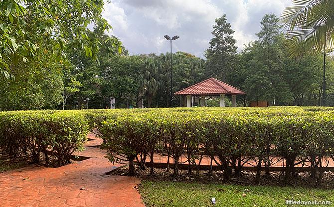 Bishan Hedge Maze at Bishan Harmony Park