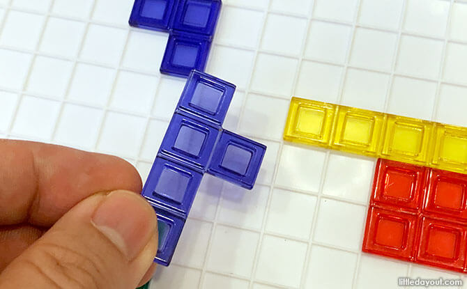 Simple Strategy Elements in Blokus Review