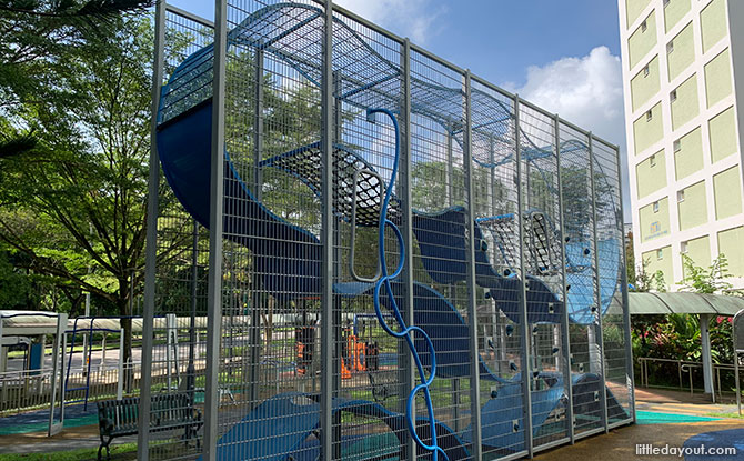 Bukit Batok East Ave 4 Wallhola Vertical Playground & More