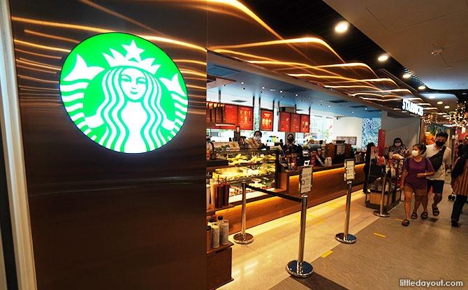 Canberra Plaza Food Starbucks