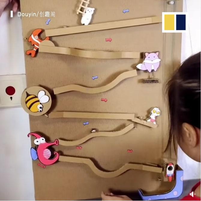 cardboard toy cute toy