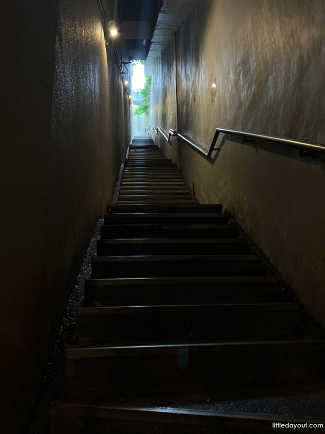 """The Hidden """"100 steps"""" Staircase"""