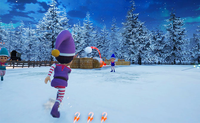 Multi-player Snowball Fight game