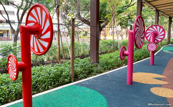 Lollipop trees - Hansel and Gretal Playground, Candy Land