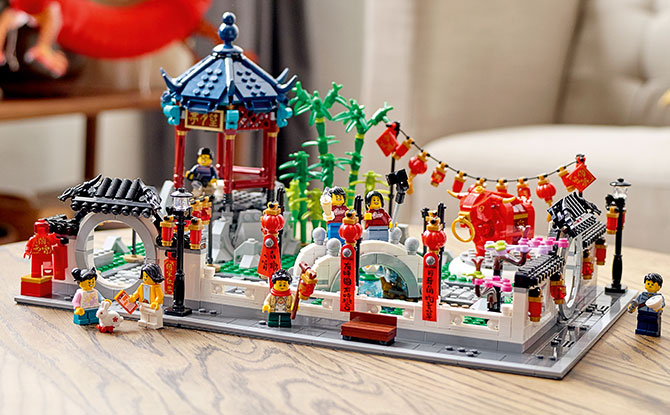 80107 - LEGO Spring Lantern Festival 1