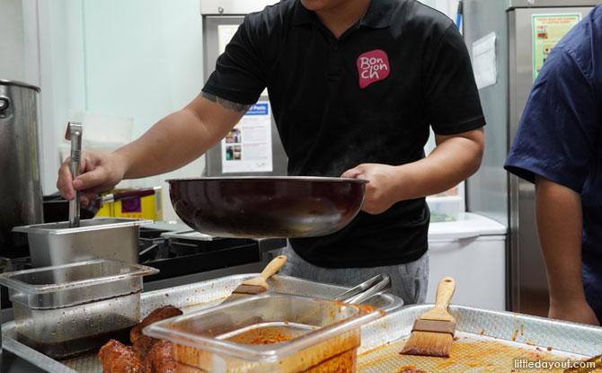 Kitchens at Deliveroo Food Market