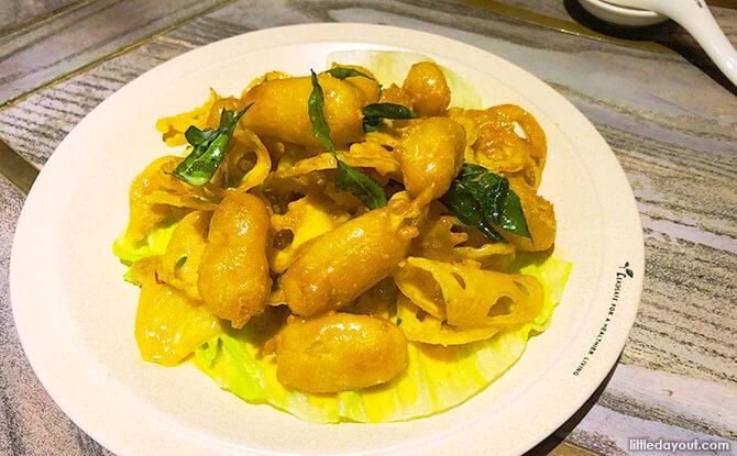 Golden Lotus Root, Dian Xiao Er