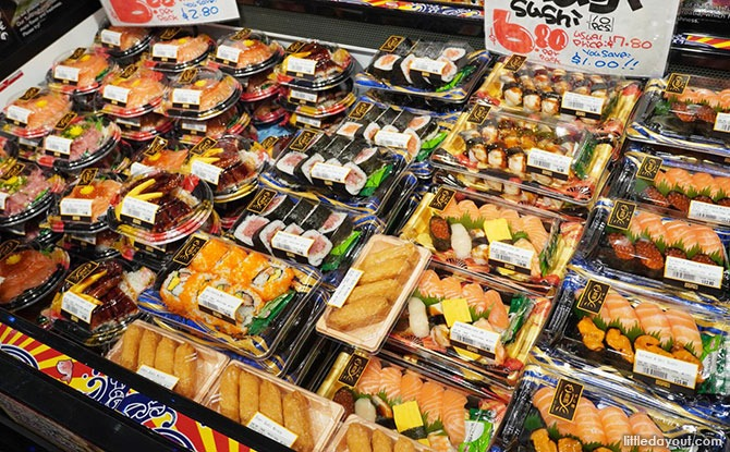 Food Don Don Donki Downtown East