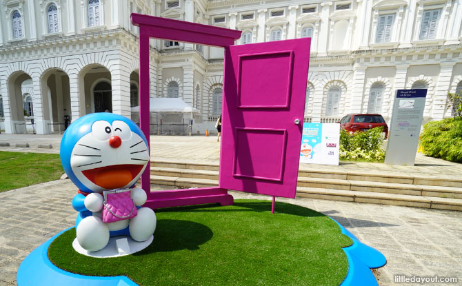 Doraemon at National Museum of Singapore