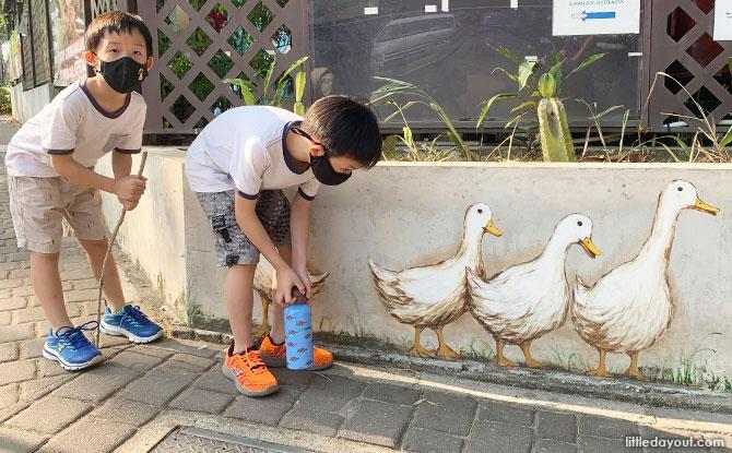 Duck murals