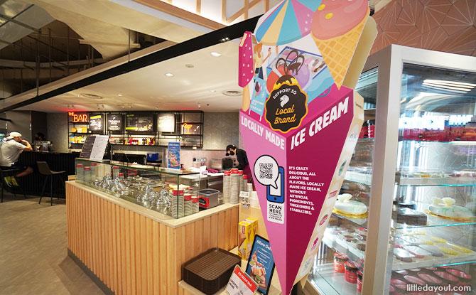 Ice cream FairPrice Xtra Parkway