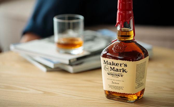 Custom Whiskey Bottle