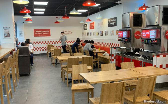 Five Guys Burgers at Serangoon