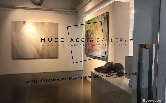 Mucciaccia Gallery in Gillman Barracks