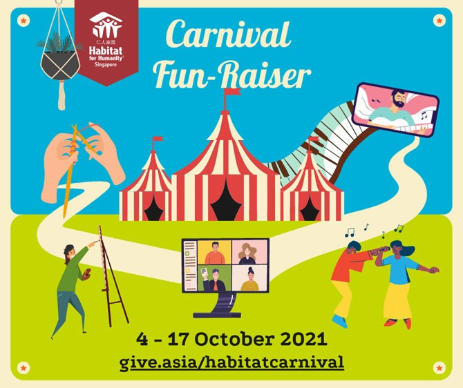 How to attend workshops and events at Habitat for Humanity's Fun-Raiser