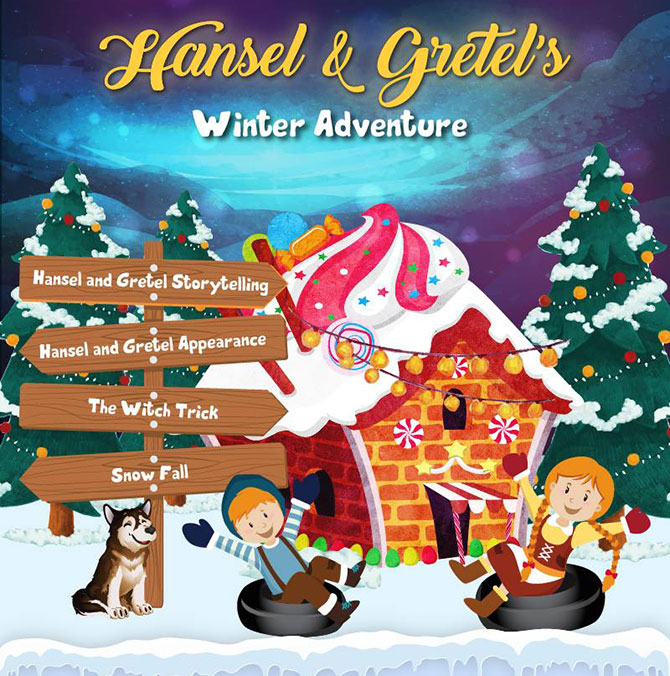Hansel & Gretel Winter Adventure at Snow City