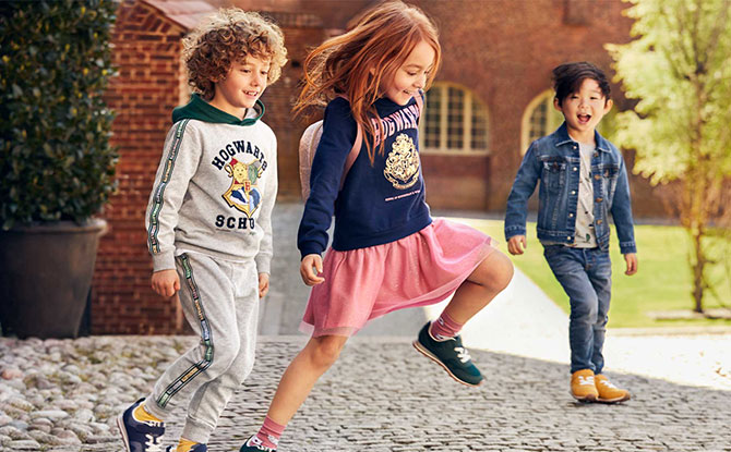 harry potter hnm collection kids