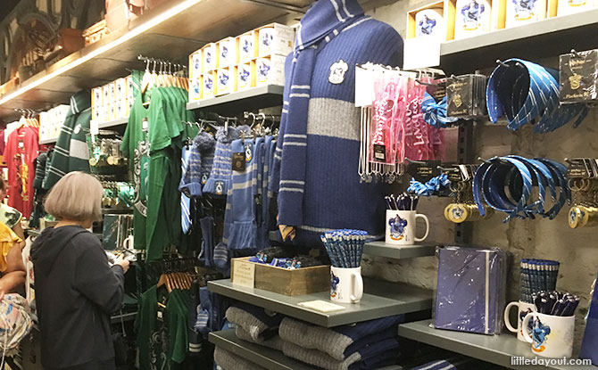 Buy a wand, t-shirts and all manner of souvenirs inside The Harry Potter Shop.