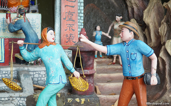 Statues at Haw Par Villa
