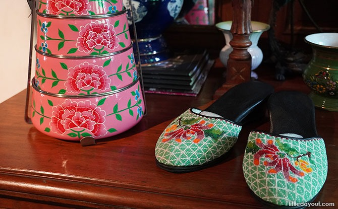 The Intan Nonya Shoes