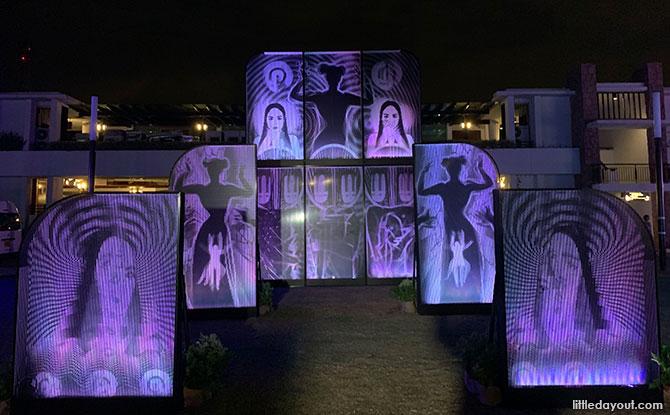 Island Lights 2019 at Sentosa: Interactive Light Installations at Sentosa Cove Village