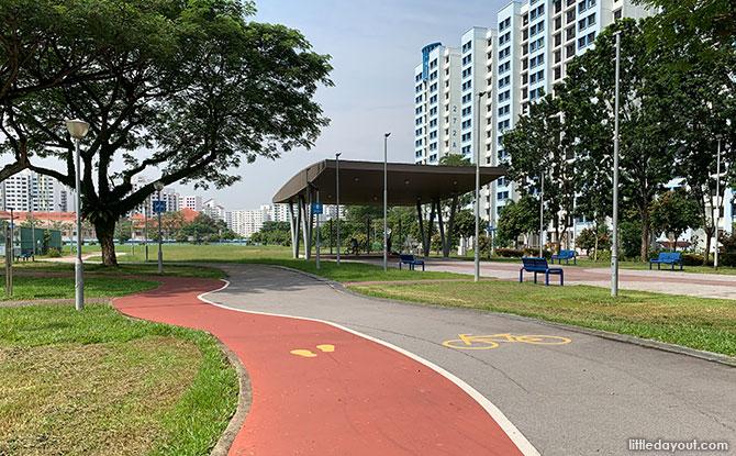 Facilities at Jalan Bahar Park Community Hub / Hong Kah Mini Park