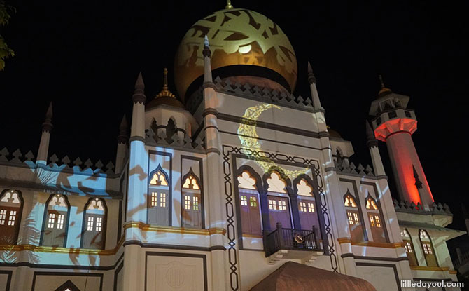 Kampong Glam Lights Up For Ramadan 2021 With A Light Projection Show & More