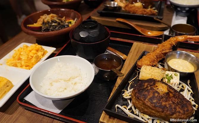 Keisuke Prime Beef Hamburg Steak Set