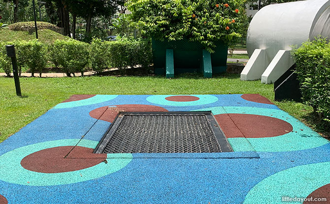 Trampoline - Science Playground in Singapore