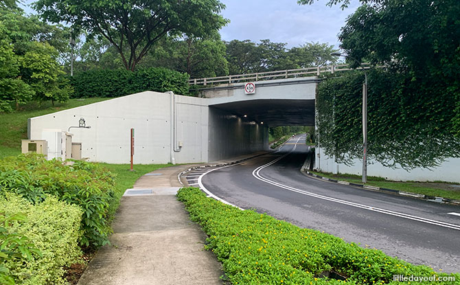 Underpass from Lornie to Kheam Hock Road