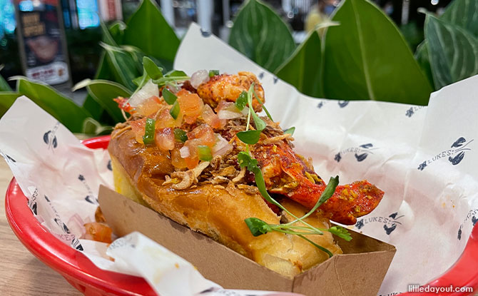 uke's Lobster Curry Roll