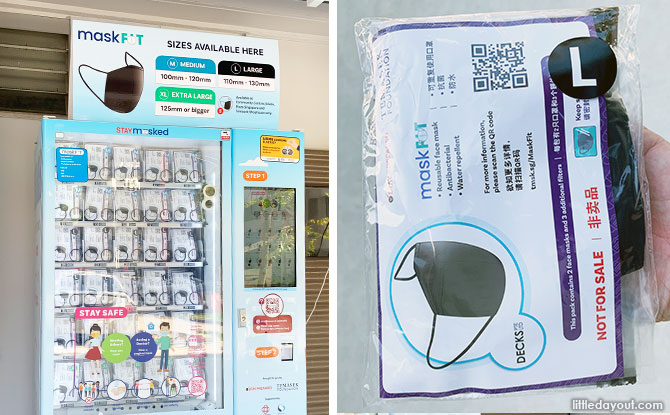 Free Masks From Temasek Foundation Available For Collection From 30 Nov to 13 Dec
