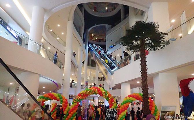 Inside Capital City, Johor Bahru