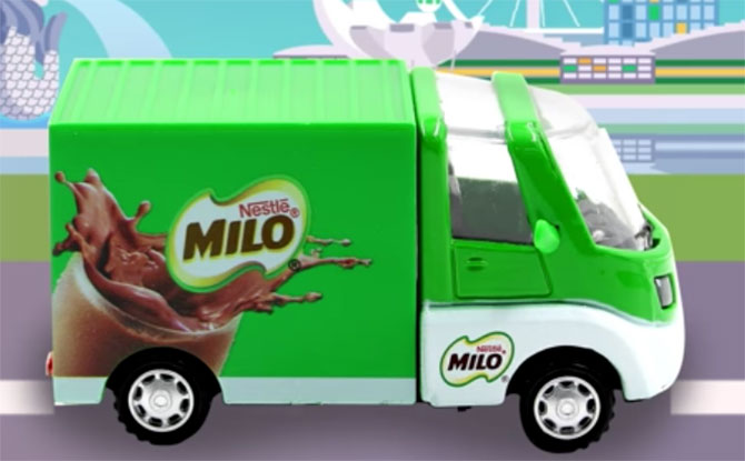 MILO Van Collectible Toy