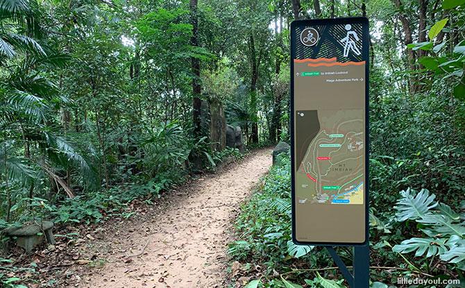 Paths at Mount Imbiah
