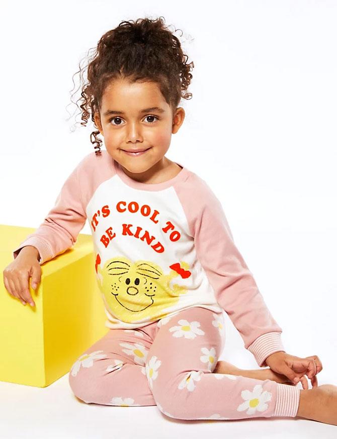 Pure Cotton Little Miss™ Pyjama Set