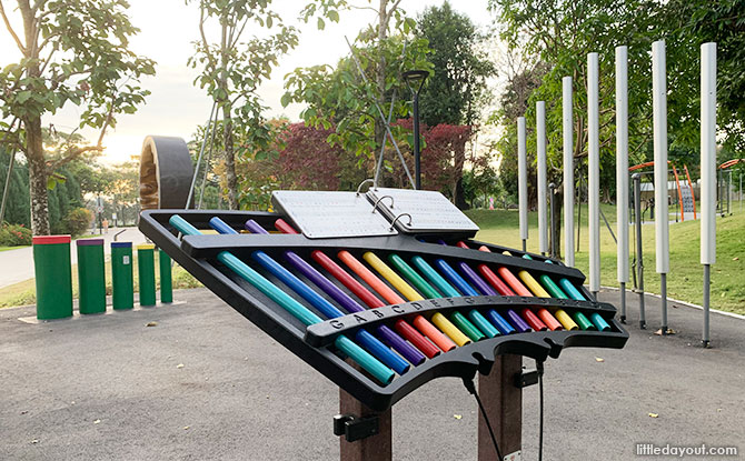 Musical Playground At Gardens By The Bay: Make Music Together
